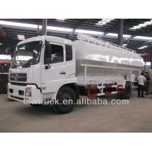 18-22m3 caminhões de descarga de alimentação em massa dongfeng granel entrega caminhão de entrega