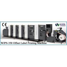 Intermittierende Rotary Offset-Etikett drucken-Maschine (WJPS-350)
