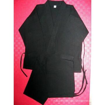 Черная форма для каратэ