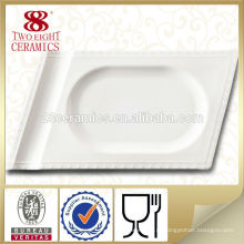 Фарфоровая посуда оптом потертостей прямоугольное блюдо подают комплектов посуды