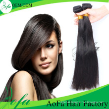 Silk Straight Virgin Malaysian Human Hair Bundle for Black Women