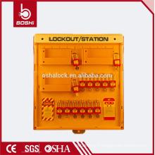 BD-B204 BRADY 10 crochets station de gestion de la clé station de verrouillage avancée combinée