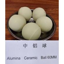 Bola de molienda de cerámica de alúmina inerte resistente a la abrasión al 92%