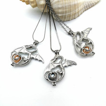 Dragon Pearl Pendant Necklace Jewelry