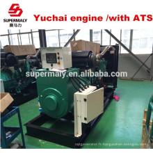 Générateur économique de vente chaude avec moteur de marque célèbre chinois yuchai