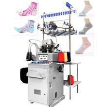 3.5 plaine deux chaussettes d'alimentation faisant la machine