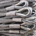 Lingas de cabo de aço galvanizado