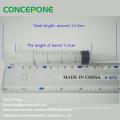 Dental Irrigation Syringe & Plastic Curved Tip Syringes