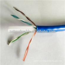 23AWG CCP utp cat6 lan cables para comunicación ADSL
