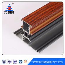 Wood grain thermal break aluminum profile for window
