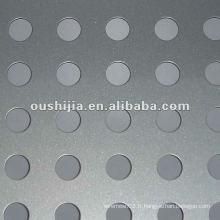Un treillis en aluminium à perforateur en aluminium bon marché et bon