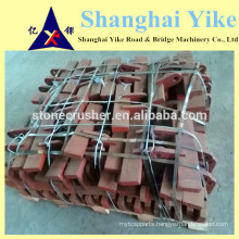 ISO hammer crusher wear parts or custom-made spaer parts NZ fiji hot sale kumbee 1 and 2