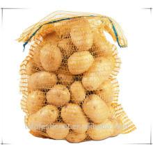 tipo diferente de saco de embalagem de cebola / saco de cebola de malha / saco de cebola saco de batata /