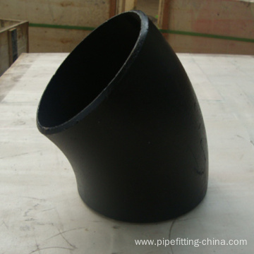 China Gold Supplier for 45 Degree Elbow Fitting EN10253 S235 Long Radius 45 Degrees Elbow export to Antarctica Suppliers