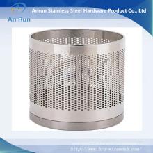 Maille métallique élargie avec rouleau