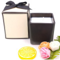 Lilin Soya Asli Wax Black Square Container Lilin Aromatik