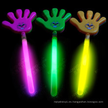 Glow Hand Clapper Glow Stick usado para concierto