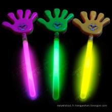 Le bâton de préchauffage de Glow Hand Clapper est utilisé pour le concert
