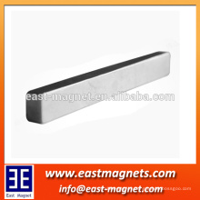 48H bar ndfeb magnet/neodymium magnet custom made factory/long stick magnet bar strong magnet for industry