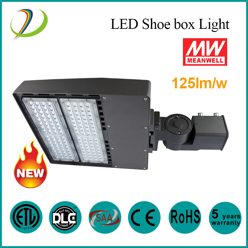75W DLC IP65 LED Shoe Box Light