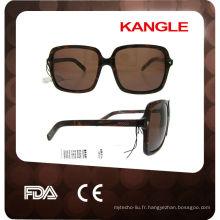 2015 mode haute qualité personnalisé en acétate lunettes de soleil