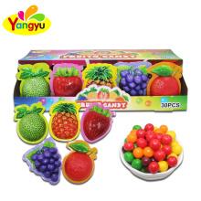 Custom Candy Fruits Shape Round Candy