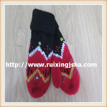 ladies hot drilling mittens
