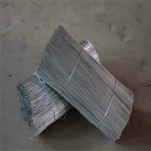 Galvanized or Black Annealed Cut Straight Wire