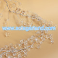 Frost Bead Garland Wire Faceted Diamond Bead Branch