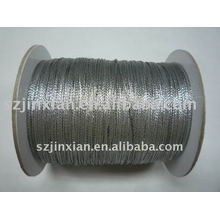 0.8mm silver hanging cord