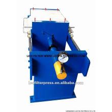 Presse-filtre hydraulique de petite taille de la chambre 500 manuelle, spécial conçu pour l'essai de laboratoire de la presse de filtre de Leo