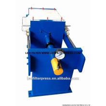 Manual Hydraulic Small Size 500 Chamber Filter Press,Special Designed for Lab Test from Leo Filter Press