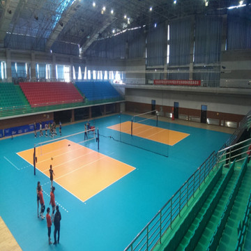 ENLIO PVC Indoor Volleyball Sports Floor