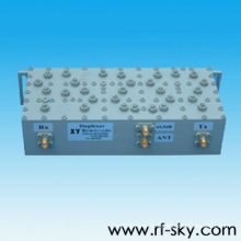 os duplexes fêmeas do vhf RF CDMA do sma fêmea 100w 825-880MHz da alta qualidade exportam