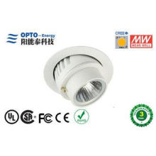 Cree COB 25W Dimmable Led Ceiling Light 2700K-3000K with al