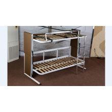Sofá-cama dobrável de espuma de metal de dois andares (F138-B)