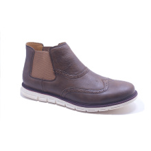 Custom Logo Leather Shoes for Man