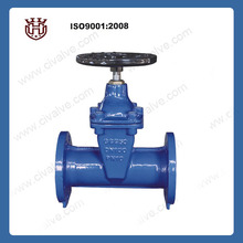 DIN 3352 F5 resilient seated stem gate valve