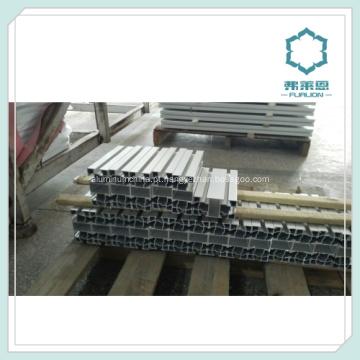 Linhas de montagem T Slot Praça anodizado alumínio perfil