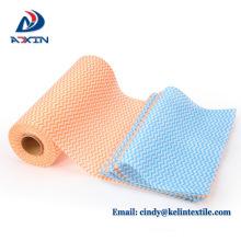 Wholesale cuisine jetable plat à laver chiffon tissu de nettoyage non tissé