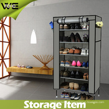 Utility Folding Fabric Non-Woven Entryway Fashion Portable Shoe Cabinet