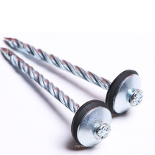 Galvanized Umbrella Head Smooth/Twist Shank Roofing Nails from China Factory