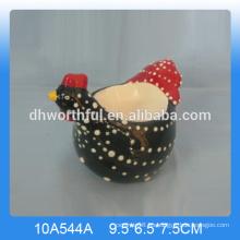 Taza de huevo de pollo de cerámica de buena calidad, taza de huevo de pollo de cerámica