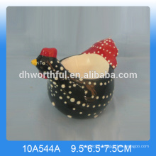 Good quality ceramic chicken egg cup,ceramic cock egg cup