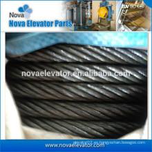 Cuerda de alambre de acero de cáñamo para elevación