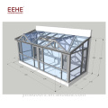 Customized size outdoor glass room winter glass room