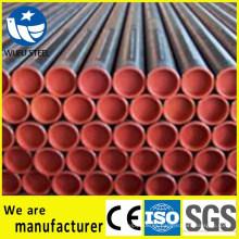 Carbon API 5L Gr.B Línea de tubería de acero ERW Q235