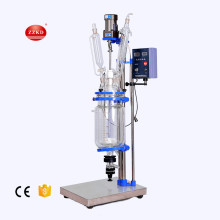 5L lab vacuum glass reflux condenser reactor