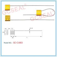 Recipiente de cabo selos GC-C1803 com 1,8 mm de diâmetro