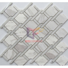 Marble Wall Tile Water Jet Stone Mosaic (CFS1141)